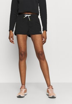 Icepeak - MAYEN - Pantalón corto de deporte - black