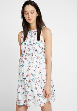 Spring Maternity - CARMENE SLEEVELESS PRINTED DRESS - Vestido informal - white