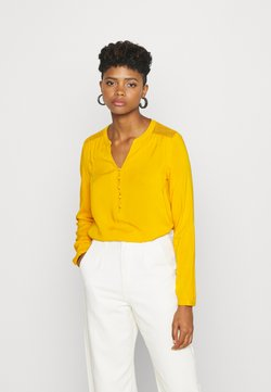 ONLY - ONLEDDIE DETAIL - Bluse - golden yellow