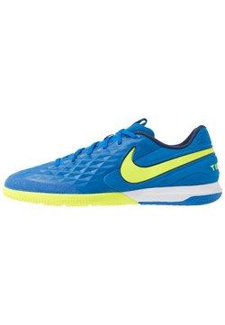 Nike Performance - REACT TIEMPO LEGEND 8 PRO IC - Fotbollsskor inomhusskor - soar/midnight navy/volt