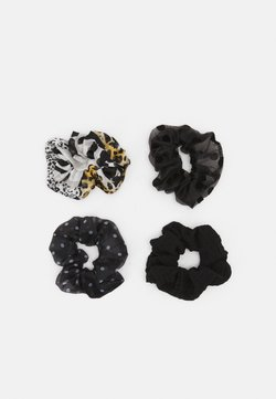 ONLY - ONLLEA 4PACK MIX SCRUNCHIES - Accessori capelli - black/mixed