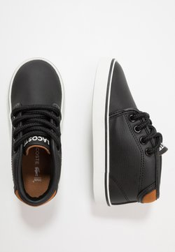 Lacoste - AMPTHILL  - Baskets montantes - black/brown