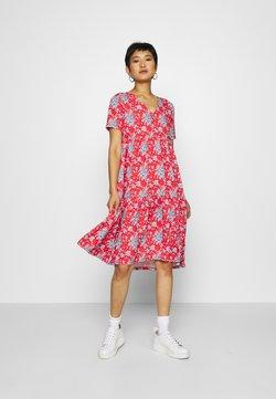 Rich & Royal - DRESS PRINTED - Freizeitkleid - summer red