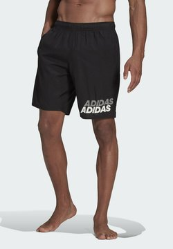 adidas Performance - LINEAGE CLASSICS CL MUST HAVES PRIMEGREEN SWIM SPORTS REGULAR SHORTS - Szorty kąpielowe - black
