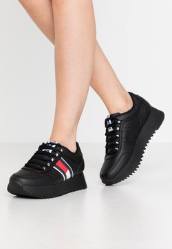 Tommy Jeans - HIGH CLEATED  - Sneakers laag - black