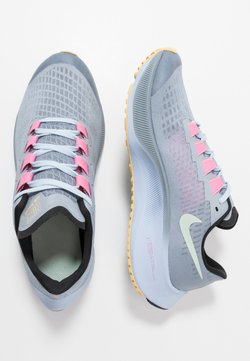 Nike Performance - AIR ZOOM PEGASUS 37 UNISEX - Laufschuh Neutral - obsidian mist/hydrogen blue/black/lotus pink