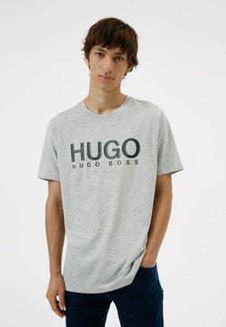 HUGO - DOLIVE - Printtipaita - open grey