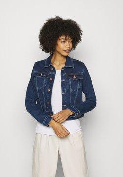 Guess - DELYA TRUCKER - Veste en jean - so chic