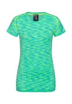 Stedman - T-Shirt print - kiwi melange