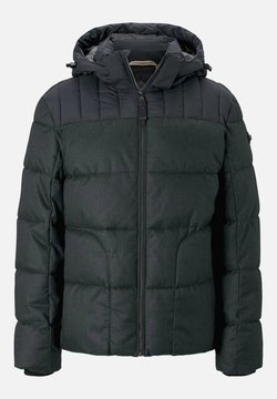 TOM TAILOR - MIT KAPUZE - Winterjacke - green wool structure