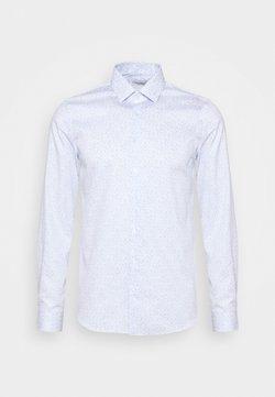 Calvin Klein Tailored - PRINTED EASY CARE SLIM - Businesshemd - blue