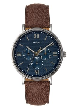 Timex - SOUTH VIEW MULTIFUNCTION 41 mm - Uhr - silver-coloured/blue
