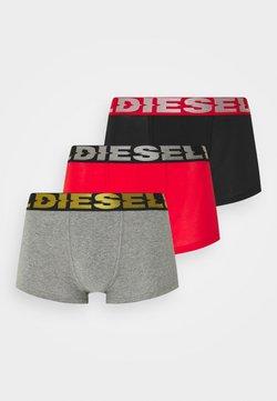 Diesel - DAMIEN 3 PACK - Panties - black/grey/red