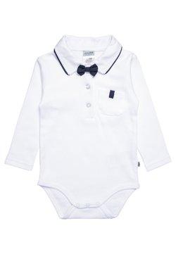 Jacky Baby - LANGARM MIT ABNEHMBARER FLIEGE CLASSIC BOY - Body - weiß