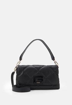 Guess - BRIGHTSIDE SHOULDER BAG - Käsilaukku - black