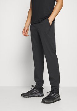 Casall - SLIM PANTS - Verryttelyhousut - black
