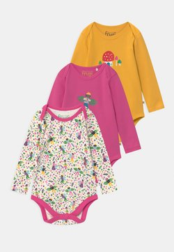 Frugi - SUPER SPECIAL BABY 3 PACK  - Body - white/yellow/pink