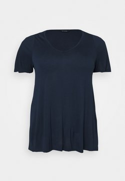 Evans - SHORT SLEEVE - Camiseta básica - navy