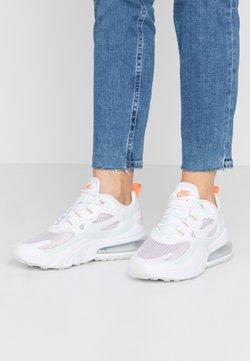 Nike Sportswear - AIR MAX 270 REACT - Sneakers - white/hyper crimso/teal tint