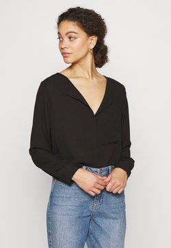 Selected Femme Petite - SLFDYNELLA PETITE - Blusa - black