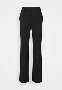 Selected Femme Tall - SLFRITA WIDE PANT - Pantaloni - black