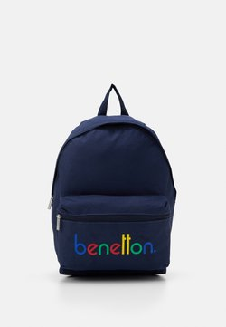Benetton - KNAPSACK - Reppu - dark blue