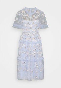 Needle & Thread - DITSY RIBBON MIDI DRESS - Vestido de cóctel - wedgewood blue