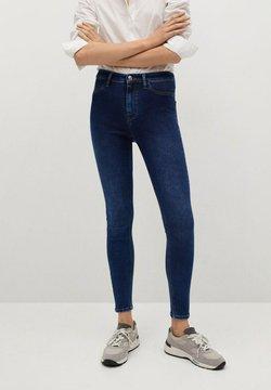 Mango - JEGGING - Jeans Skinny - donkerblauw