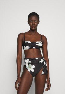 Lauren Ralph Lauren - TWIST BANDEAU - Bikini-Top - black/white