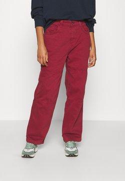 Kickers Classics - COMBAT TROUSERS - Spodnie materiałowe - burgundy
