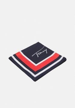 Tommy Hilfiger - SIGNATURE FOULARD - Foulard - blue