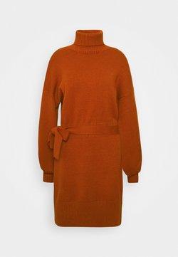 Fashion Union Tall - LEOTI - Gebreide jurk - brown