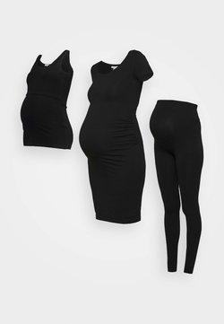 Anna Field MAMA - NURSING SET - Leggings - Trousers - Legginsy - black