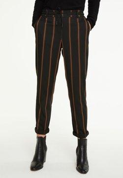 comma casual identity - IM JOGSTYLE - Stoffhose - grey stripes