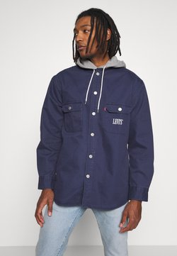 Levi's® - HOODED JACKSON OVERSHIRT - Kevyt takki - dress blues