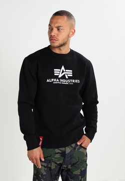 Alpha Industries - BASIC  - Sweatshirt - black