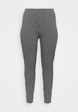 Noisy May Curve - NMHOUND - Leggings - black/white