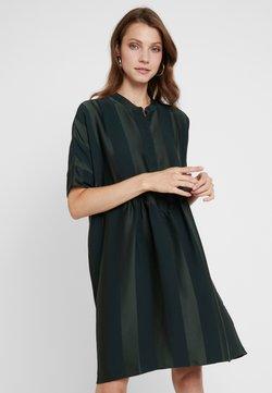 Selected Femme - SLFVIOLA OVERSIZE DRESS - Blusenkleid - scarab