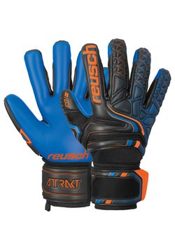 Reusch - Fingerhandschuh - blck/shock orange/deep b