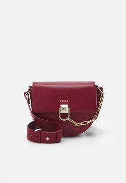Furla - MISS MIMI MINI CROSSBODY - Across body bag - ciliegia