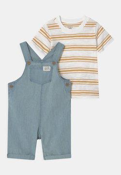 Carter's - SHORTALL SET - T-shirt imprimé - blue
