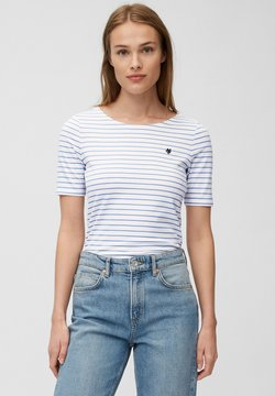 Marc O'Polo - T-Shirt print - mutli/washed cornflower
