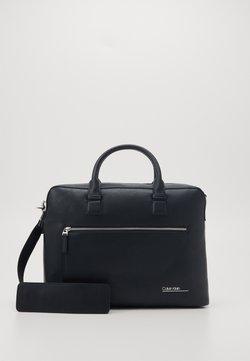 Calvin Klein - LAPTOP BAG - Aktówka - black