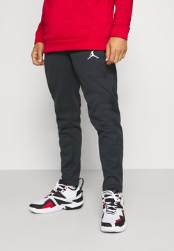 Jordan - AIR THERMA PANT - Jogginghose - black/white