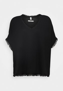 Esprit - PONCHO CROP - Cape - black