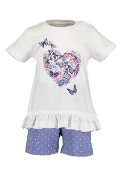 Blue Seven - GIVE ME WINGS - Shorts - weiss