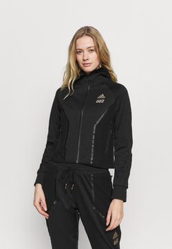 adidas Performance - SPORTS TRACK - Verryttelytakki - black