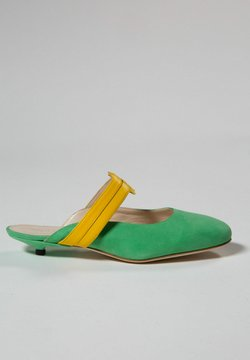 Jerelyn Creado - Sandalias planas - mint green