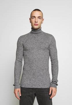 Brave Soul - RALLYC - Strickpullover - charcoal/grey marl twist