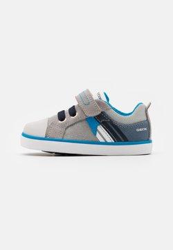 Geox - KILWI BOY - Vauvan kengät - grey/avio